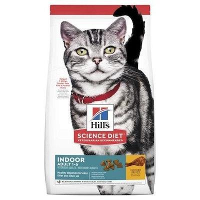 Hills Hill's Science Diet Indoor Adult Dry Cat Food