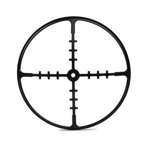 "7"" Metal Cross Hairs Design Grill"
