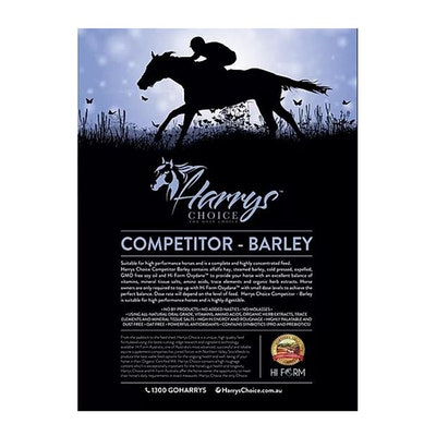 HARRYS CHOICE Competitor Barley Horses Performance Feed Supplement 18kg
