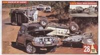 Mareeba police say caravan couple died on rural road which is not for towing newcomers