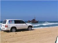 GoSeeAustralia meets the Sygna on Stockton Beach.