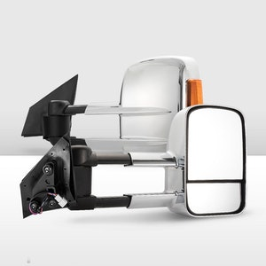 Pair Extendable Towing Mirror for Mazda BT50 MY 2012-2020 W/ Indicators