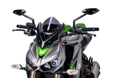 Puig New Generation Sport Screen To Suit Kawasaki Z1000/R (Dark Smoke)