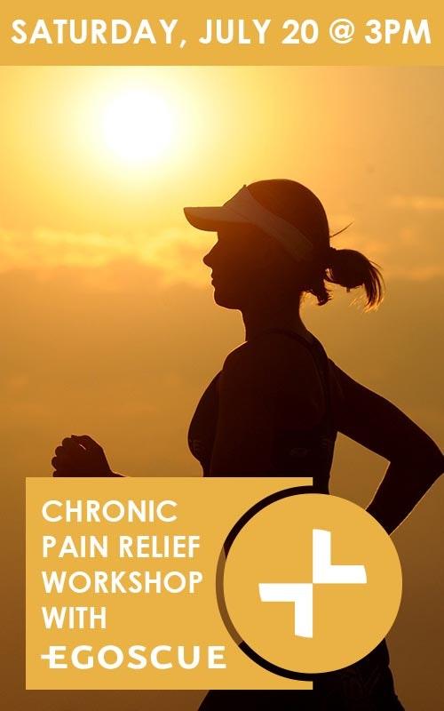 Chronic Pain Workshop July 20 @ 3pm