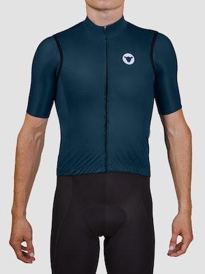 Black Sheep Cycling Men's Essentials TEAM Vest - Block Slate