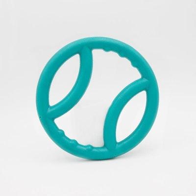 Zippy Paws ZippyTuff Squeaky Ring - Teal