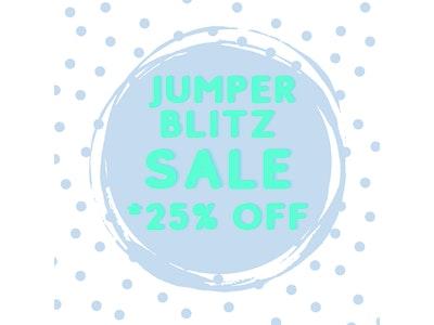 KIDS NAME JUMPER BLITZ SIZE 6 - SIZE 14