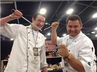 Top chefs on grill in Great New Zealand Food Show Mystery Cook off