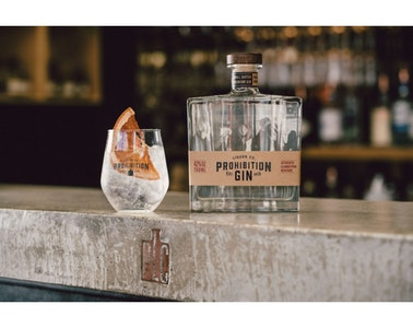Prohibition Original Gin 700ml 42% Alc. Vol.