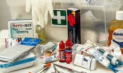 First Aid Kit for Camping - Checklist