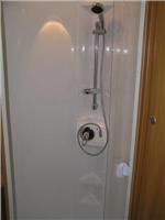 Jayco Sterling clever circular shower