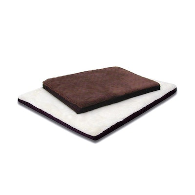 SNOOZA Orthobed Lightweight Cosy Pet Dog Bed Brown - 2 Sizes