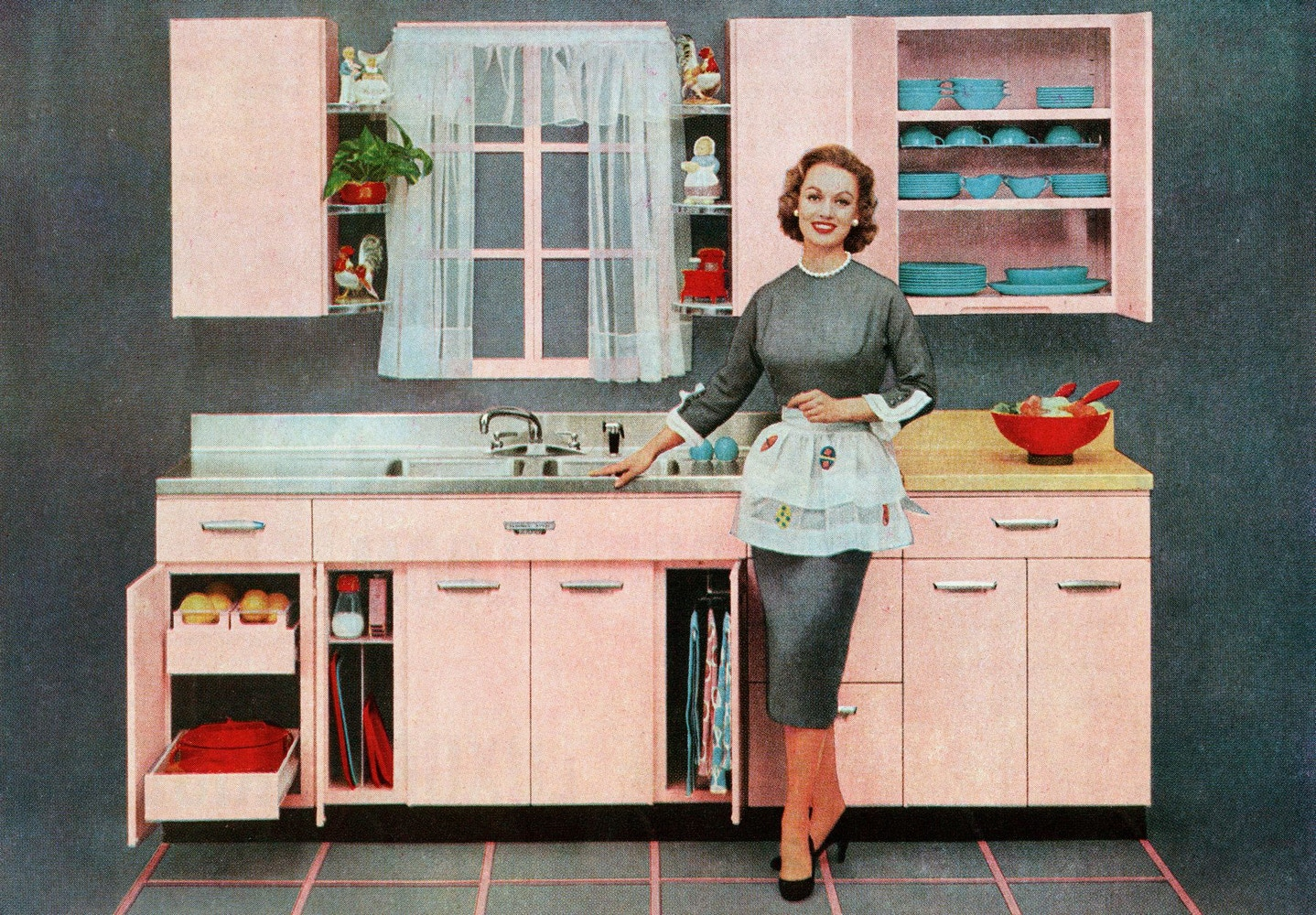 Kitchens Design Through The Decades: 1920's - 1950's