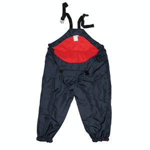 Silly Billyz XL Red/Navy Waterproof Overalls
