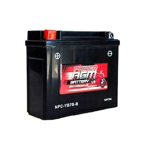 Power AGM 12V 7AH 170CCAs Motorcycle Battery