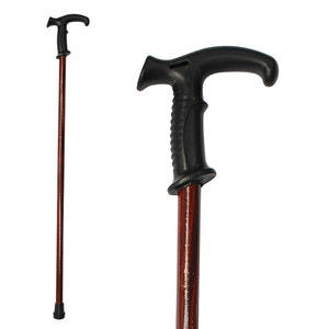 Safe Home Care Walking Stick Mahogany