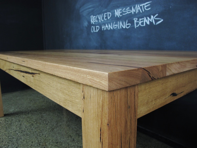 Cole Furniture Recycled Messmate Post And Rail Dining Tables