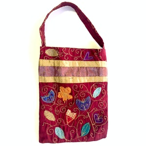 Karhina Golden Garden Handbag