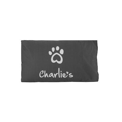 Charlie's Pet Pillowcase Charcoal