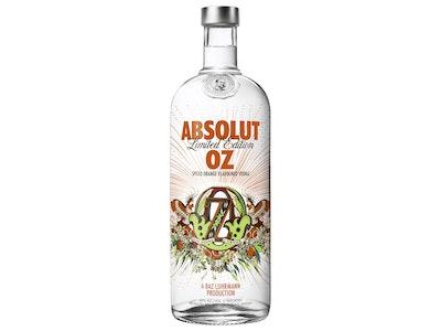 Absolut OZ Spiced Orange Vodka 1L
