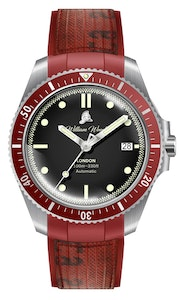 William Wood Watches - Valiant Collection - The Red Watch - Japanese Movement