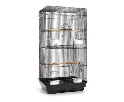 House of Pets Delight Pet Bird Cage Black Medium