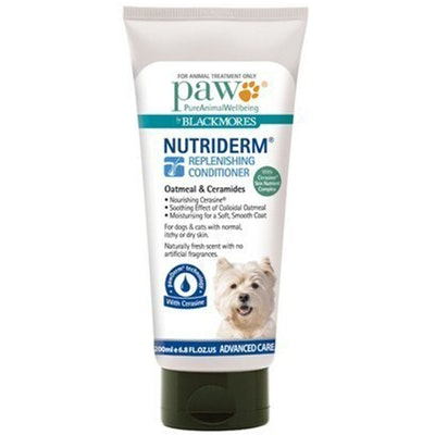 Paw Nutriderm Dogs & Cats Replenishing Grooming Conditioner - 2 Sizes