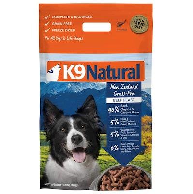 K9 Natural Grain Free Beef Dry Dog Food