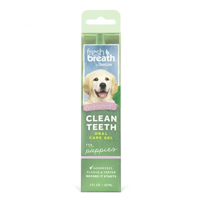 Tropiclean Fresh Breath Clean Teeth Gel Puppies 59ml