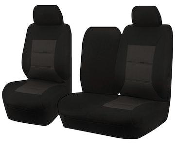 Premium Car Seat Covers For Hyundai Iload Tq 1-5 Series 2008-2020 Single/Crew Cab | Black