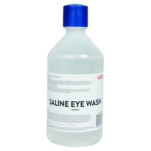 Mediq Eye Wash Re-Order - Saline Solution (500mL)