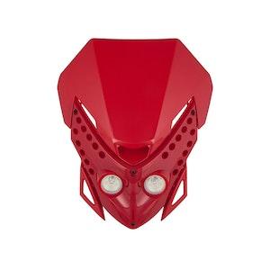 Viper Motocross Front Headlight - Red