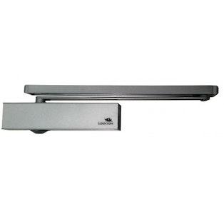 Lockton SGDC195-S-G (Push side of door) Global Series  CE Certified EN Size 2-5 Cam Action Door Closer in silver finish