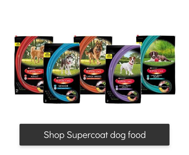 supercoat dog food range