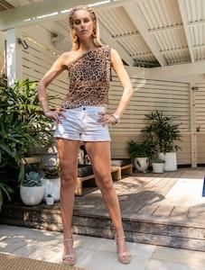 SKARONG Leopard Mesh Mini