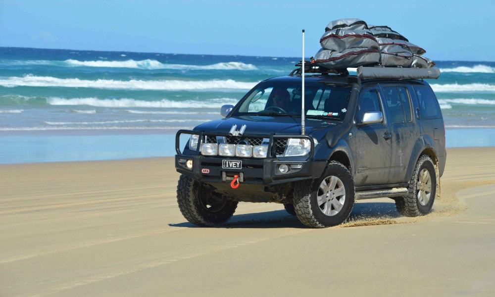 From Stradbroke Island to the Simpson Desert