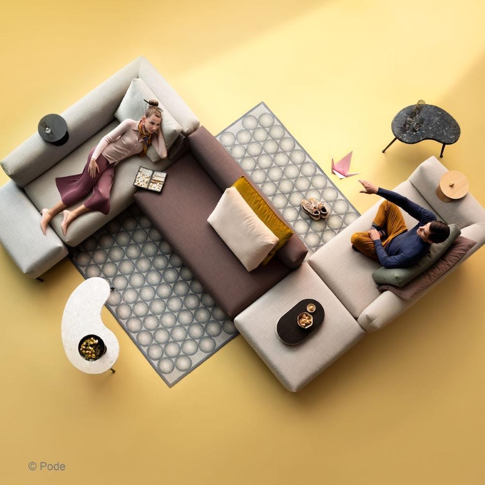 Creëer een uniek zitlandschap met modulaire sofa's: geen dertien in een dozijn