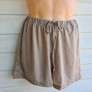 Men's Sleep Shorts   100% Merino Wool Stone