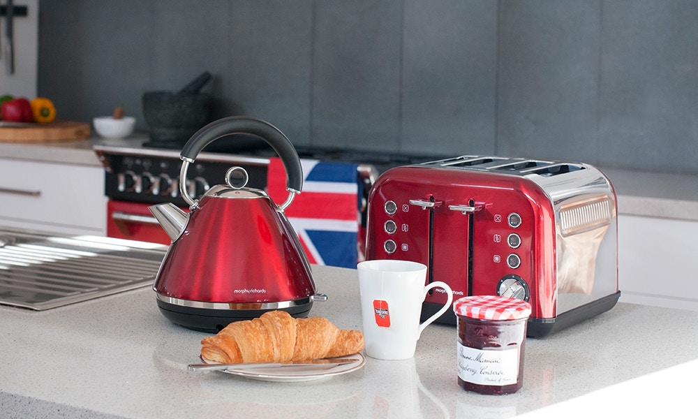 Colour your Kitchen with Morphy Richards - the Easy Way