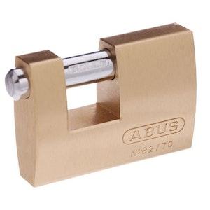 ABUS Padlock Monoblock 82/70 -70mm Ideal Shipping Container Padlock
