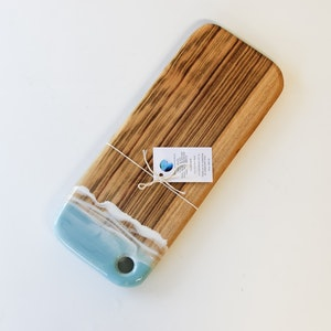 Mineral Blue - Resin Cheese Board - Small