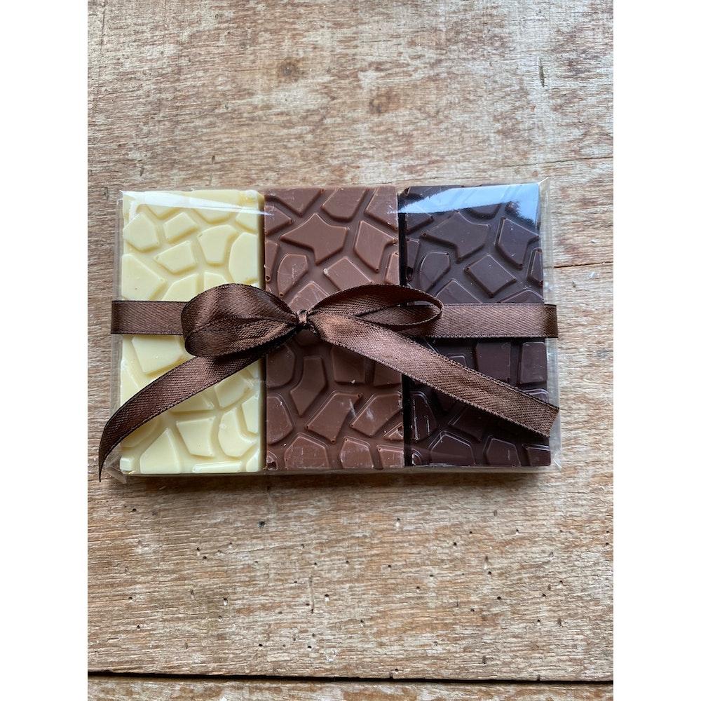 Lifetime of Chocolate Trio Of Tasting Bars