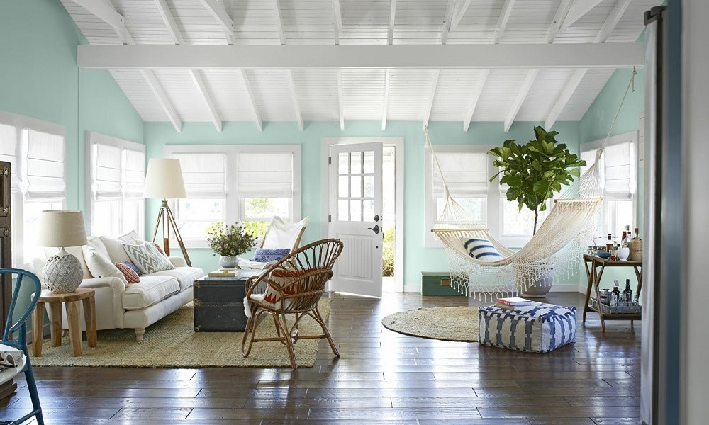 Beach house decor ideas coastal living inspiration for Cheap beach decorations for the home