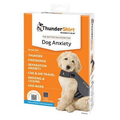 Thundershirt Dog Anxiety Calming Aid Jacket Heather Grey - 5 Sizes