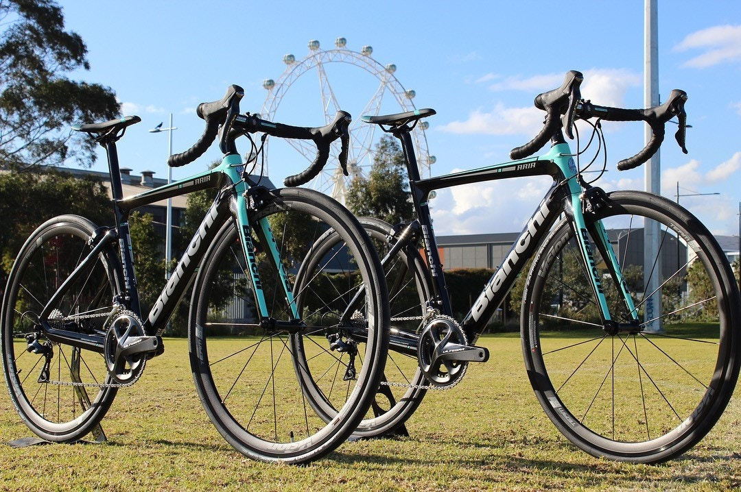 Bianchi Aria Rental Bike Docklands Cycles