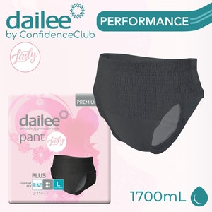 Dailee Pants Lady Plus Black - LARGE (110 - 140cm)