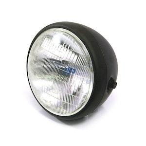 "Metal Cafe Racer Classic Headlight - 7.7"""