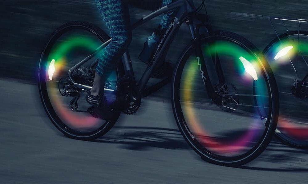 nite ize bike wheel lights article bikeexchange  1 of 1