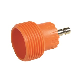 Radiator Cap Pressure Tester Adaptor - Orange M45 Screw