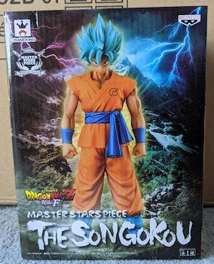 Dragon Ball Super: Resurrection 'F' - Super Saiyan Blue SSB Goku - MSP Master Star Piece Figure